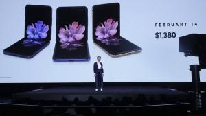 Nächster Anlauf für Samsungs Falt-Handys