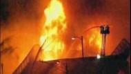 Inferno auf Fernstraße in Michigan