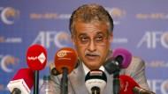 """""""Können Einfluss von außen nicht gebrauchen"""": Scheich Salman soll Blatter folgen."""
