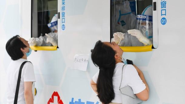 China testet neun Millionen Einwohner innerhalb von fünf Tagen