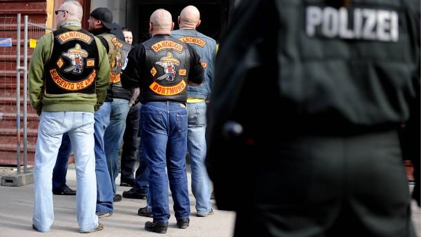 Groß-Razzia gegen Rockergruppe in fünf Bundesländern