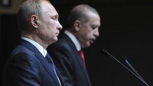 Darum geht es bei Erdogans und Putins Krisengipfel