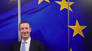 Diese Regulierung schwebt Mark Zuckerberg vor