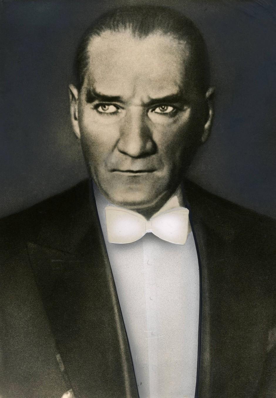 Kemal Pascha (heute Kemal Atatürk) war der erste Präsident der türkischen Republik nach dem Ersten Weltkrieg.