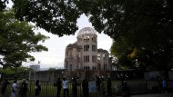 Eine Gedenkstelle erinnert an den Atombombenangriff auf Hiroshima – und lockt viele Touristen an.
