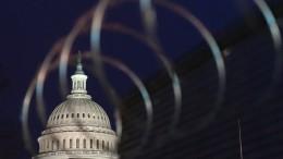 Mann nahe Kapitol in Washington festgenommen