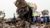 Mehr als hundert Tote bei Flugzeugabsturz in Tripolis