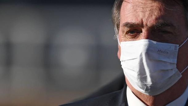 Bolsonaro legt Veto gegen Maskenpflicht ein
