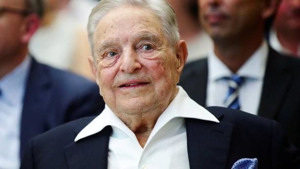 George Soros gegen Larry Fink