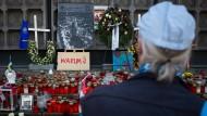 """Die Tat eines """"gewerbsmäßigen Drogendealers"""": Gedenken an die Opfer des Terroranschlags in Berlin."""