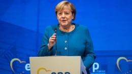 """Merkel: """"Abgerechnet wird zum Schluss"""""""
