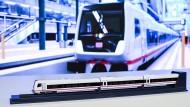 So soll das neue Modell ECx aussehen. Ab 2023 wird es zunächst auf der Strecke Berlin-Amsterdam eingesetzt.