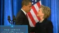 Clinton zur Außenministerin ernannt