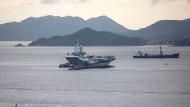 Chinesische Kriegsschiffe fahren Richtung Ostsee