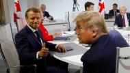 Es ist das erste Mal, dass Emmanuel Macron einen G-7-Gipfel ausrichtet.