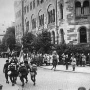 Abzug der letzten Truppen der Alliierten aus Trier: Das Rheinland feiert das Ende der Besatzung.