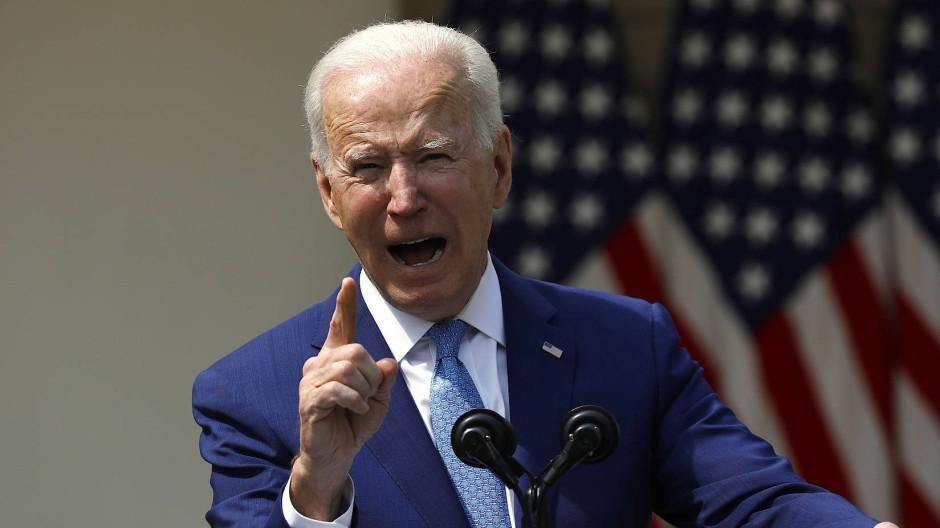 Joe Biden will entschlossen gegen Waffengewalt vorgehen.