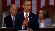 Obama geht kämpferisch ins zweite Amtsjahr