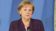 """Merkel: """"Mit mir gibt es keine Mehrwertsteuer-Erhöhung"""""""