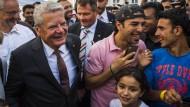 Joachim Gauck äußert sich zu Asylpolitik