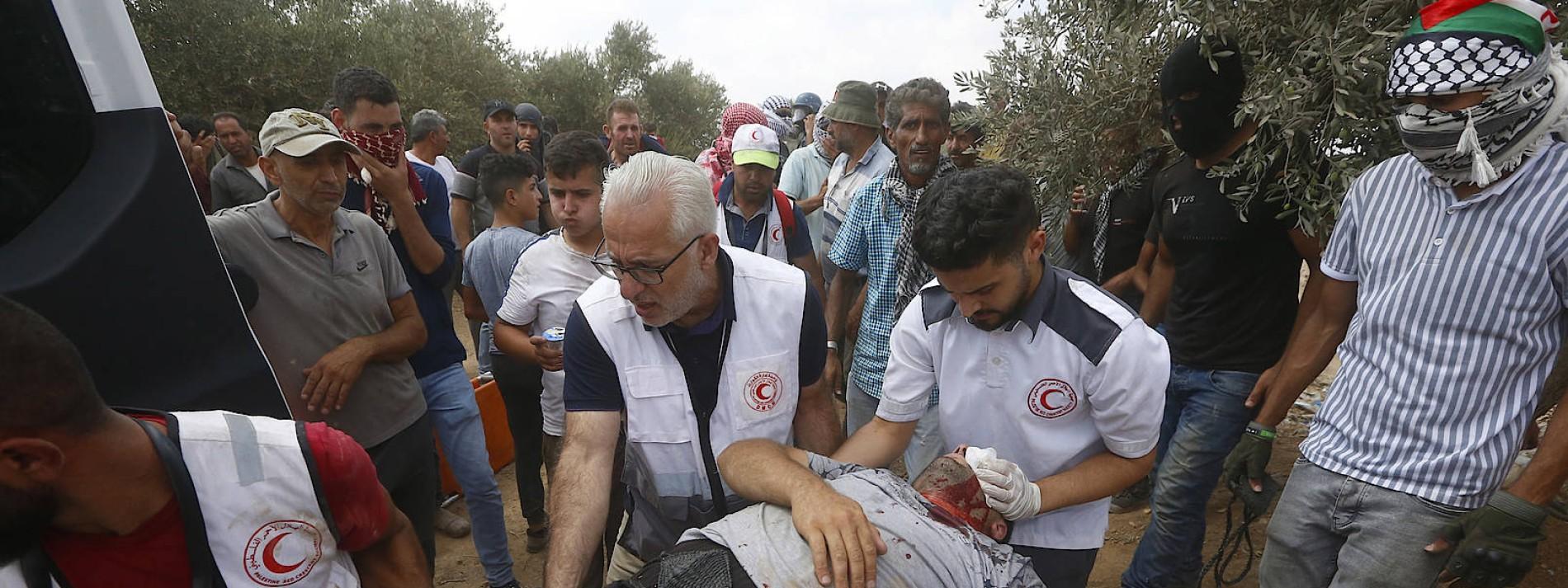 Ein Toter und Hunderte Verletzte bei Zusammenstößen im Westjordanland