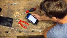Das Smartphone ist so wichtig wie der Schraubenzieher