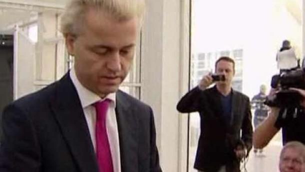 Erfolg für Rechtspopulist Wilders