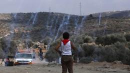 Gewalt im Westjordanland