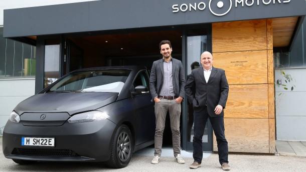 Sono Motors will Solarautos auf die Straße bringen