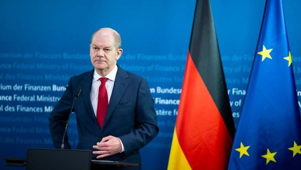 Grüne fordern von Finanzminister Scholz Aufklärung