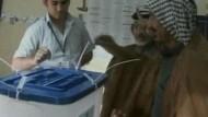Irak wählt und erfährt Gewalt