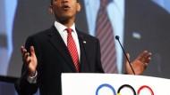 Obama wirbt für Olympia in Chicago