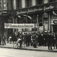 Parteilokal der NSDAP: Bei den Wahlen 1930 wurden die Nationalsozialisten zweitstärkste Kraft im Reichstag.