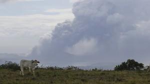 Vulkanasche macht Philippinern zu schaffen