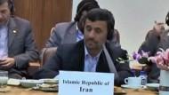Abkommen mit Ahmadineschad stößt auf Skepsis