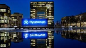Thyssen-Krupp streicht in einstiger Kernsparte 3000 Stellen