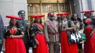 Namibia will Deutschland wegen Völkermordes verklagen