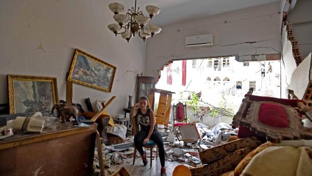 Ihr Zuhause liegt in Trümmern