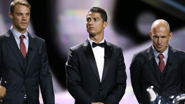 Ronaldo schnappt Neuer den Titel weg