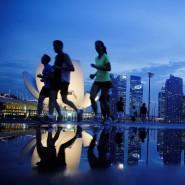 immer in Bewegung: Die Finanzmetropole Singapur und ihre Bewohner