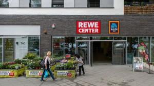 Der Wohnraum über Supermärkten