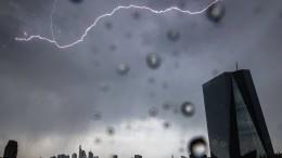 Schauer und teils kräftige Gewitter möglich