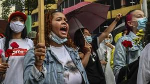 Kolumbiens junge Generation wendet sich von ihrem Präsidenten ab