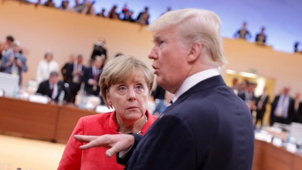 Transatlantischer Balanceakt für die Bundeskanzlerin