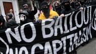 Proteste gegen G-20-Treffen