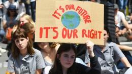 Weltweite Klima-Proteste beginnen in Australien
