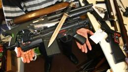Hessen geben mehr als 900 Schusswaffen ab