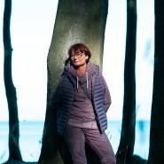 Annemarie Sigle, 61, aus Weinstadt in Schwaben versucht, nach ihrer Covid-19-Erkrankung in der Reha an der Ostsee wieder fit zu werden.