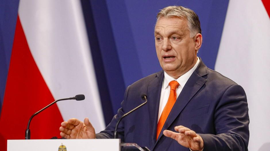 Auf Verhandlungen in Brüssel: Ungarns Ministerpräsident Viktor Orbán trifft am Freitag EU-Kommisionspräsidentin Ursula von der Leyen.