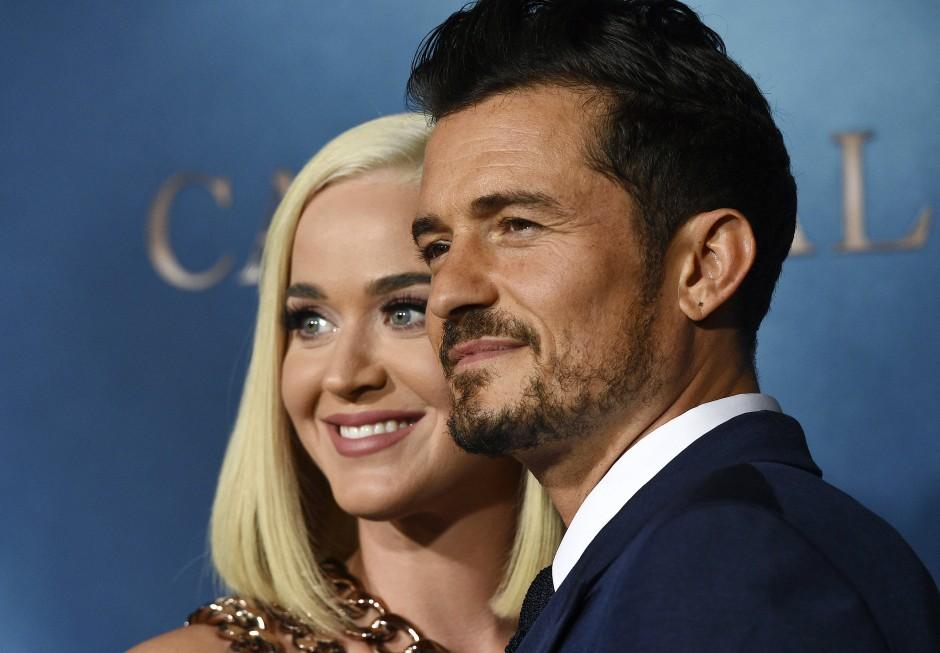 Frisch-gebackene Eltern: Katy Perry und Orlando Bloom